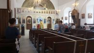 Mersin Rum Ortodoks Kilisesi'nde Meryem Ana'nın Derin Uykuya Dalışına Veda Gününe Özel Ayin Yapıldı