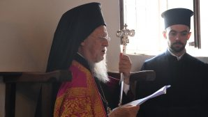 "Ecumenical Patriarch Bartholomew celebrated the ""Ascension of the Virgin Mary"" feast in Gökçeada"