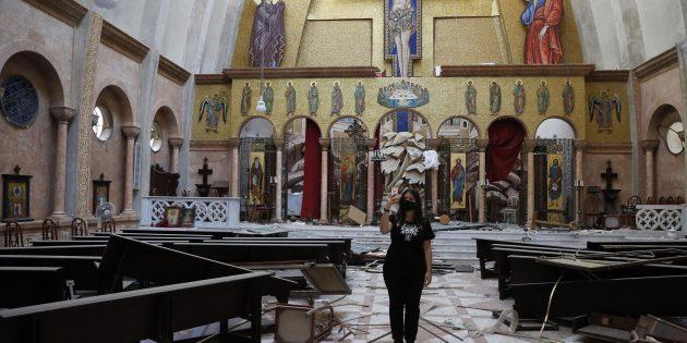 """""""Lübnan Karmaşa İçindeydi, Patlama Daha Kötüleştirdi"""""""
