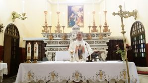 'Ascension of the Virgin Mary to the Heavens' Mass at the Iskenderun Catholic Church