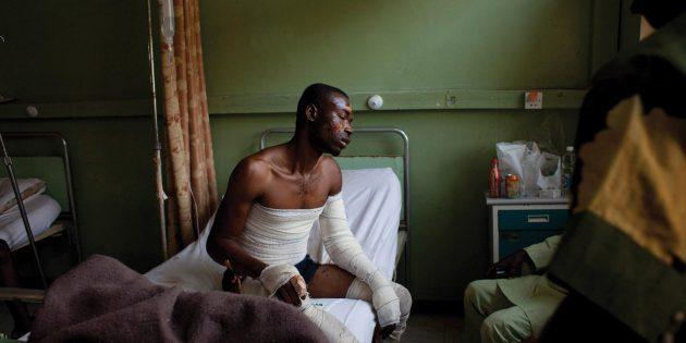 Nijerya'da Sokağa Çıkma Yasağı Sırasında Hristiyanlar Hedef Alındı