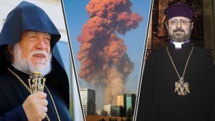 Kadasetli Sahak II, Beyrut'taki Patlamayla İlgili Taziyelerini Sundu