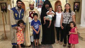 Turkish Armenian Spiritual Chairman of the Board visited Vakıflıköyü in Hatay