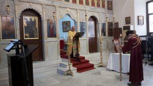 Mersin'de Kutsal Haçın Yükseltilmesi Ayini
