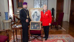 Ünlü Balyan Ailesinin Torunundan Türkiye Ermenileri Patriği Sahak II'ye Önemli Ziyaret