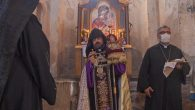 Van Ahtamar Adası'ndaki Surp Haç Ermeni Kilisesi Tarihi Bir Güne Daha Tanıklık Etti
