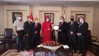 TeK Visited The Syriac Orthodox Community Spiritual Leader and Deputy Patriarch Metropolitan Filüksinos Yusuf Çetin