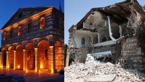 Tarihi Kilise Bakımsızlıktan Yıkıldı