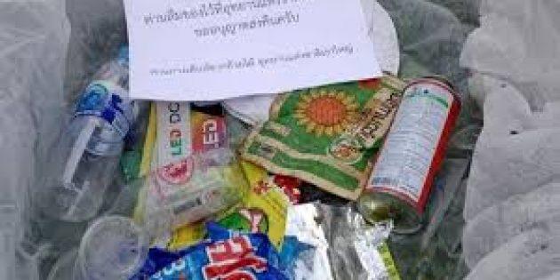 Tayland'da Yere Atılan Çöpler Sahiplerine İade Edilecek