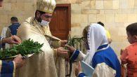 Kutsal Haçın Yüceltilişi Bayramı Kutlandı