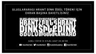 Uluslararası Hrant Dink Ödülleri Sahiplerini Bulacak