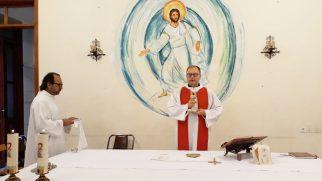 İskenderun Katolik Kilisesi'nde 'Kutsal Haç Bayramı' Ayini