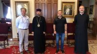 Congratulations and Courtesy Visit from SAT-7 TURK to the Patriarch Sahak II