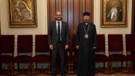 Fransa İstanbul Başkonsolosu Olivier Gauvin'den, Patrik Sahak II'ye Ziyaret