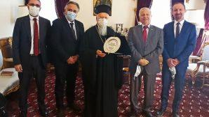 Protestan Kiliseler Derneği'nden Ekümenik Patrikhane'ye Nezaket Ziyareti