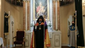 The Feast of the Holy Cross was Celebrated Under the Presidency of Patriarch Sahak II