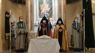 Patrik Sahak II Riyasetinde Kutsal Haç'ın Bulunuş Yortusu Kutlandı