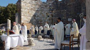 Theotokos Feast Celebration in Ephesus Virgin Mary Church