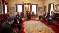 TBMM İnsan Hakları İnceleme Komisyonu'ndan Patrik Sahak II'ye Ziyaret