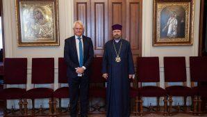 Almanya İstanbul Başkonsolosu Johannes Regenbrecht, Patrik Sahak II'yi Ziyaret Etti
