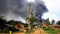 Kongo'da Düzenlenen Saldırıda Kilise ve Birçok Ev Tahrip Oldu