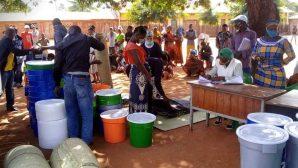 Mozambik'e Hristiyan Yardım Kuruluşundan Destek Sağlandı
