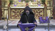 """Patrik Sahak II'den 2020'nin Son Vaazı: """"Korku Kapıyı Çaldı, İman Kapıyı Açtı"""""""