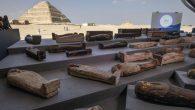 Mısır'da Resimli Kefenlere Sarılmış 100'den Fazla Lahit