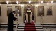 Christmas Mass in İskenderun Orthodox Church without Community