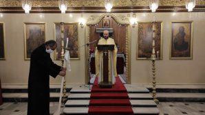 """İskenderun Ortodoks Kilisesi'nde """"Cemaatsiz"""" Noel Ayini"""