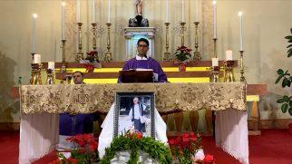 Mersin Katolik Kilisesi'nde Vefat Eden Rahibe Concetta'nın Ruhu İçin Kutsal Ayin