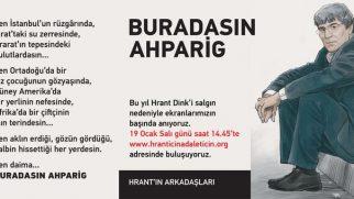 Hrant Dink Anması Bu Sene İnternet Üzerinden Gerçekleşecek
