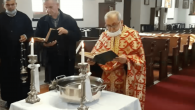 Mersin Rum Ortodoks Kilisesi'nde Vaftiz Bayramı