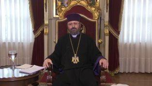 """Patrik Sahak II: """"İnsan, Tanrısı ile Tamamlanır"""""""