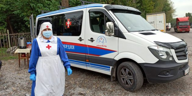 Rusya'da, Bir Merhamet Otobüsü Daha Hizmet Vermeye Başladı